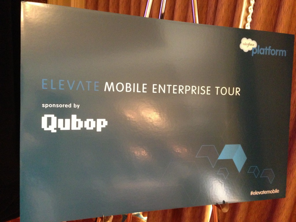 Mobile Enterprise Tour, Salesforce and Qubop