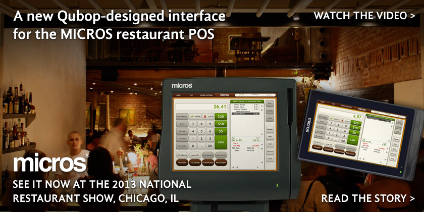 MICROS POS redesign by Qubop