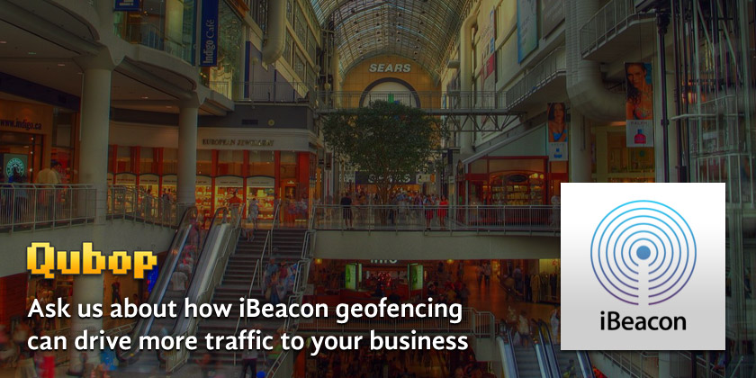 Qubop iBeacon solutions for retailers